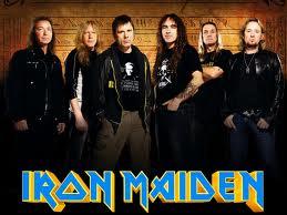 Iron Maiden:  Murray, Gers, Dickinson, Smith, McBrain y Harris